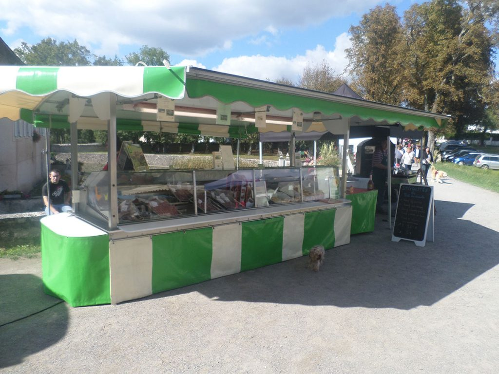 Market day and outside catering