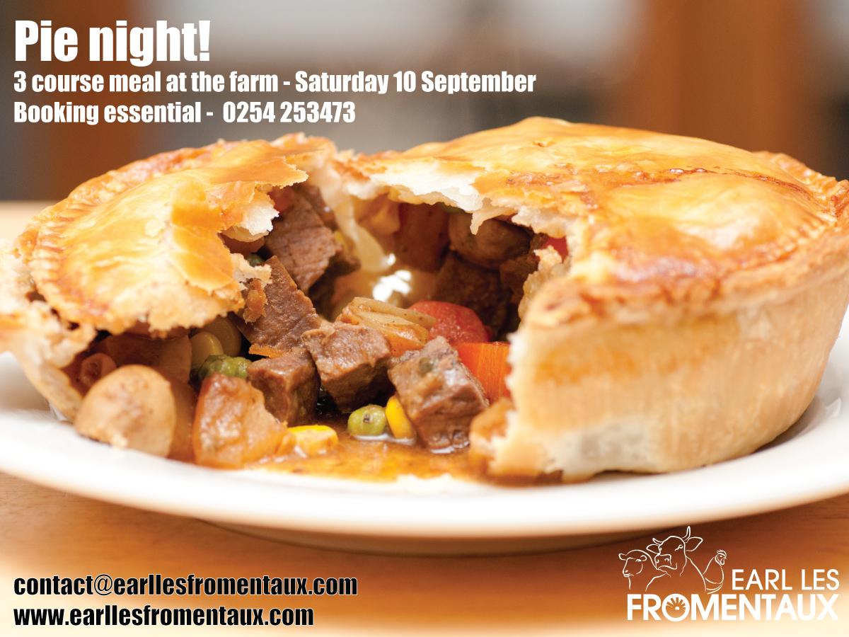 Pie night!